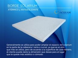 Borde Solarium ( 0.50 x 0.50 m.)