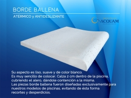 Borde Ballena (0.40 x 0.50 m.)