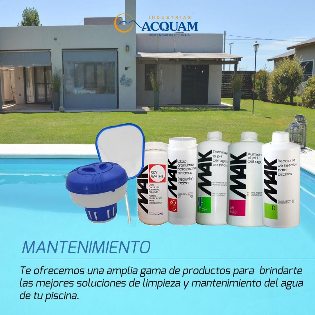 Mantener el agua de tu piscina fuera de temporada es super fácil. Consultanos!